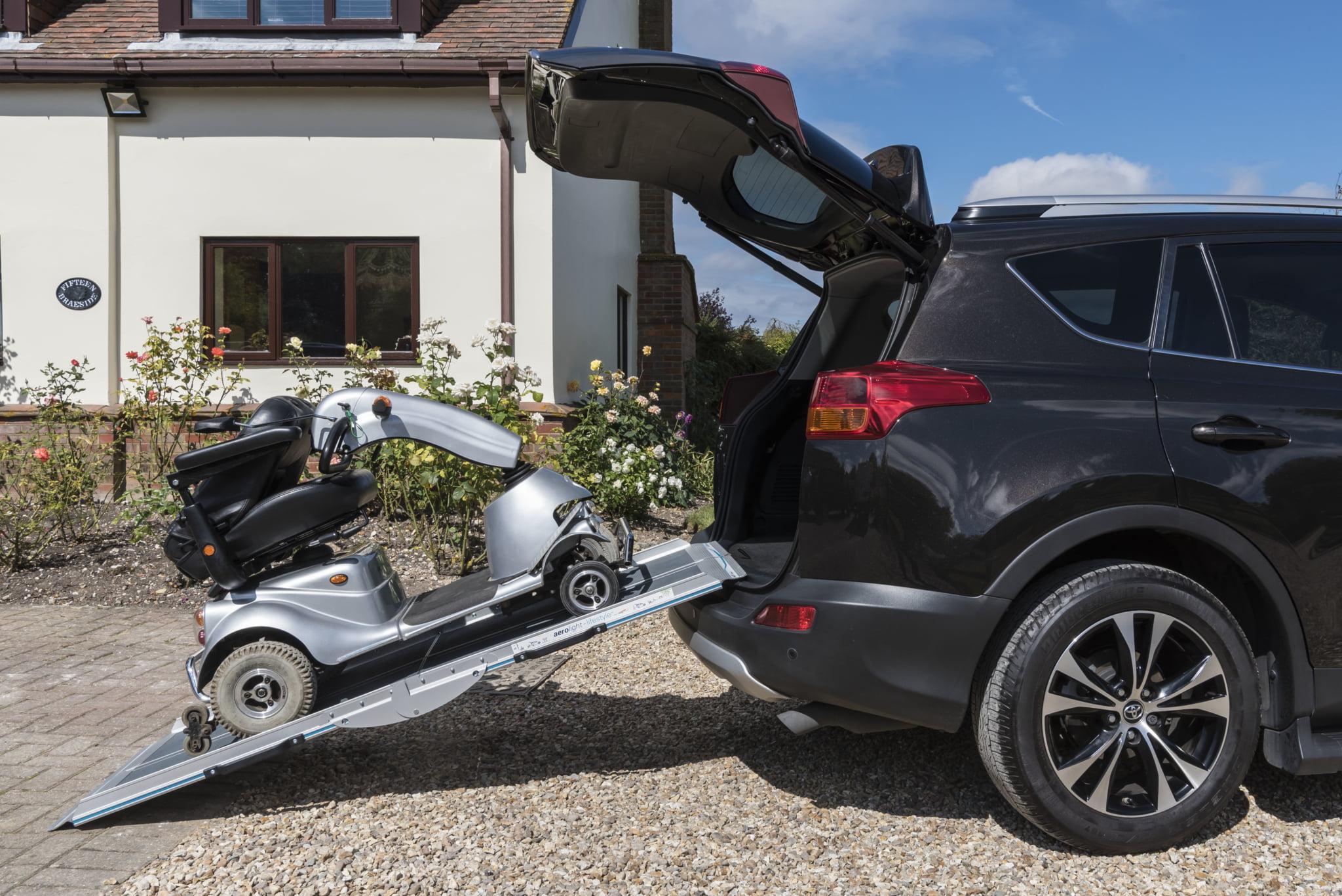 Aerolight Lifestyle Folding Mobility Scooter Ramp 4