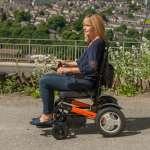 Ezi-Fold Lightweight Electric Wheelchair | Monarch Mobility Powerchairs 0800 002 9633