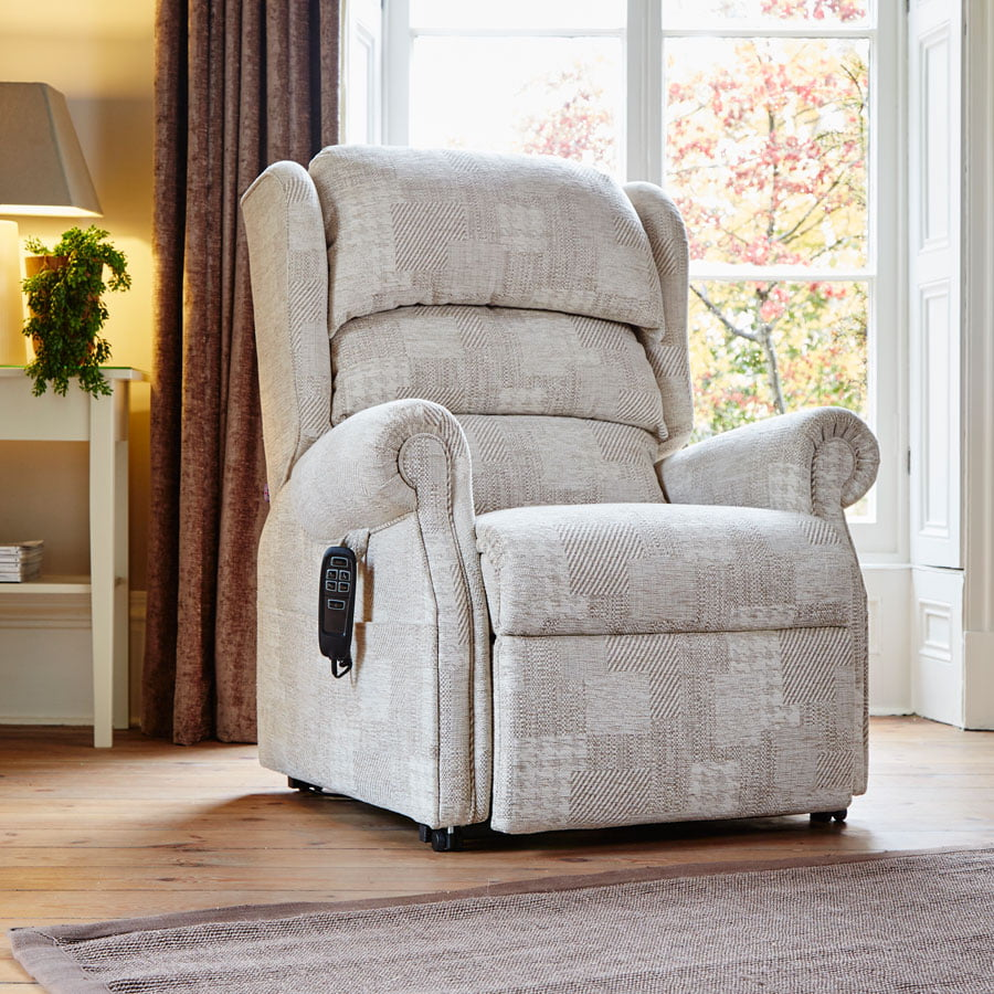 Hamble Single Motor Riser Recliner Chair