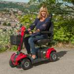 MM8 Mobility Scooter | 8mph, Class 3, Road Legal Mobility Scooter | Monarch Mobility Scooters 0800 002 9633