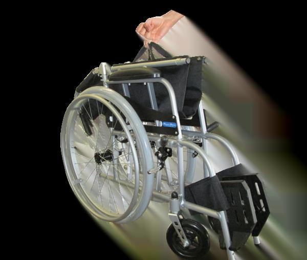 Monarch Petite Lite Folding Wheelchair 2