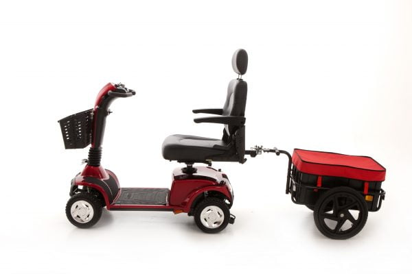 Mobility Scooter Trailer | 40kg Capacity | Quick release towbar | Monarch Mobility Accessories 0808 102 2218