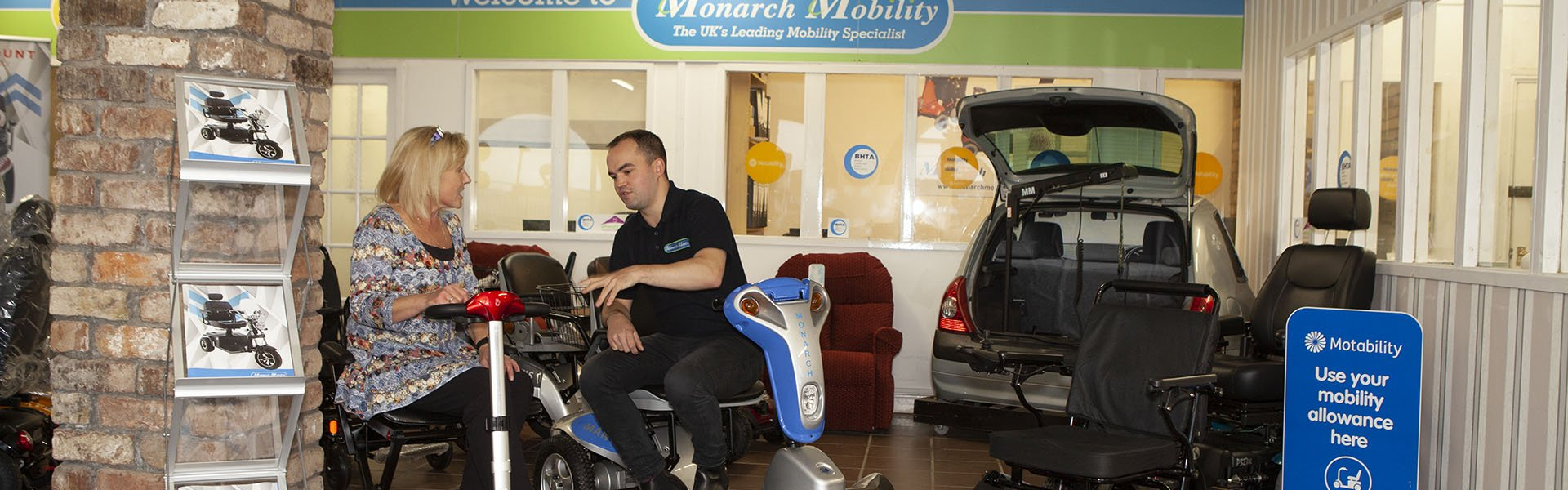 Mobility Experts | Monarch Mobility 0808 102 2218