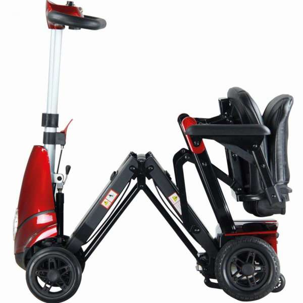 Mobie Plus Folding Mobility Scooter Red