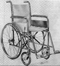 Everest Jennings Folding Wheelchair