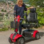 MM4 Mobility Scooter | 4mph Mobility Scooter with a range up to 25 miles! | Monarch Mobility 0800 002 9633