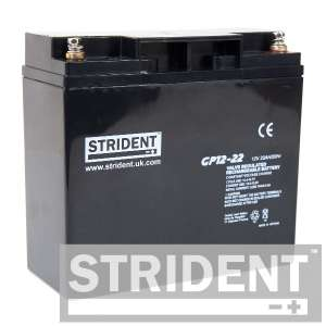 Strident™ GP12-22 Mobility Scooter Battery