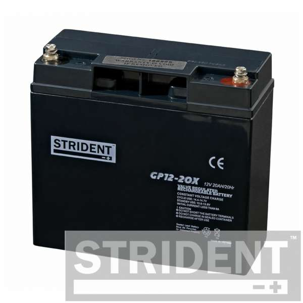 Strident™ GP12 - 20 Mobility Scooter Battery