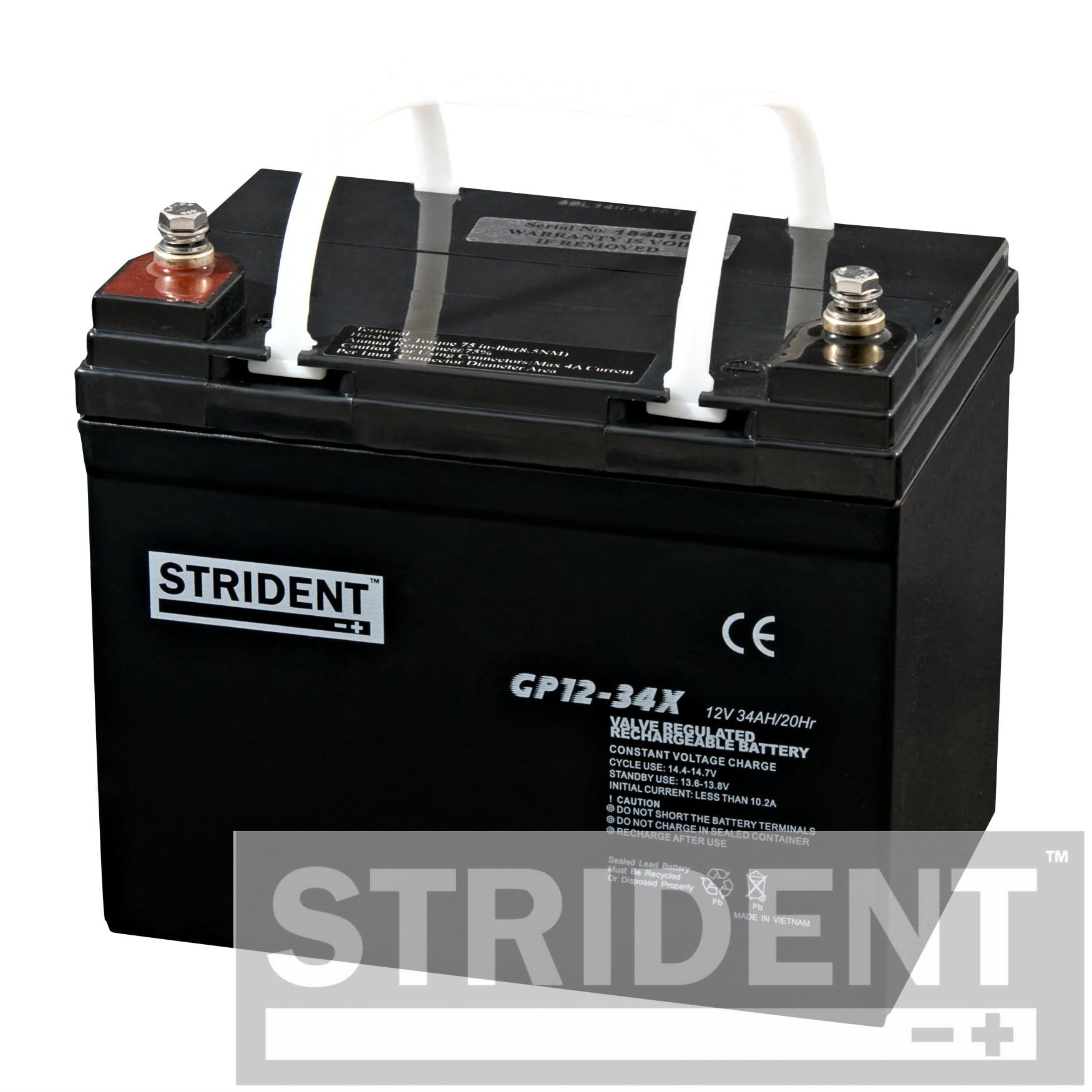 Strident™ GP12-34 Mobility Scooter Battery