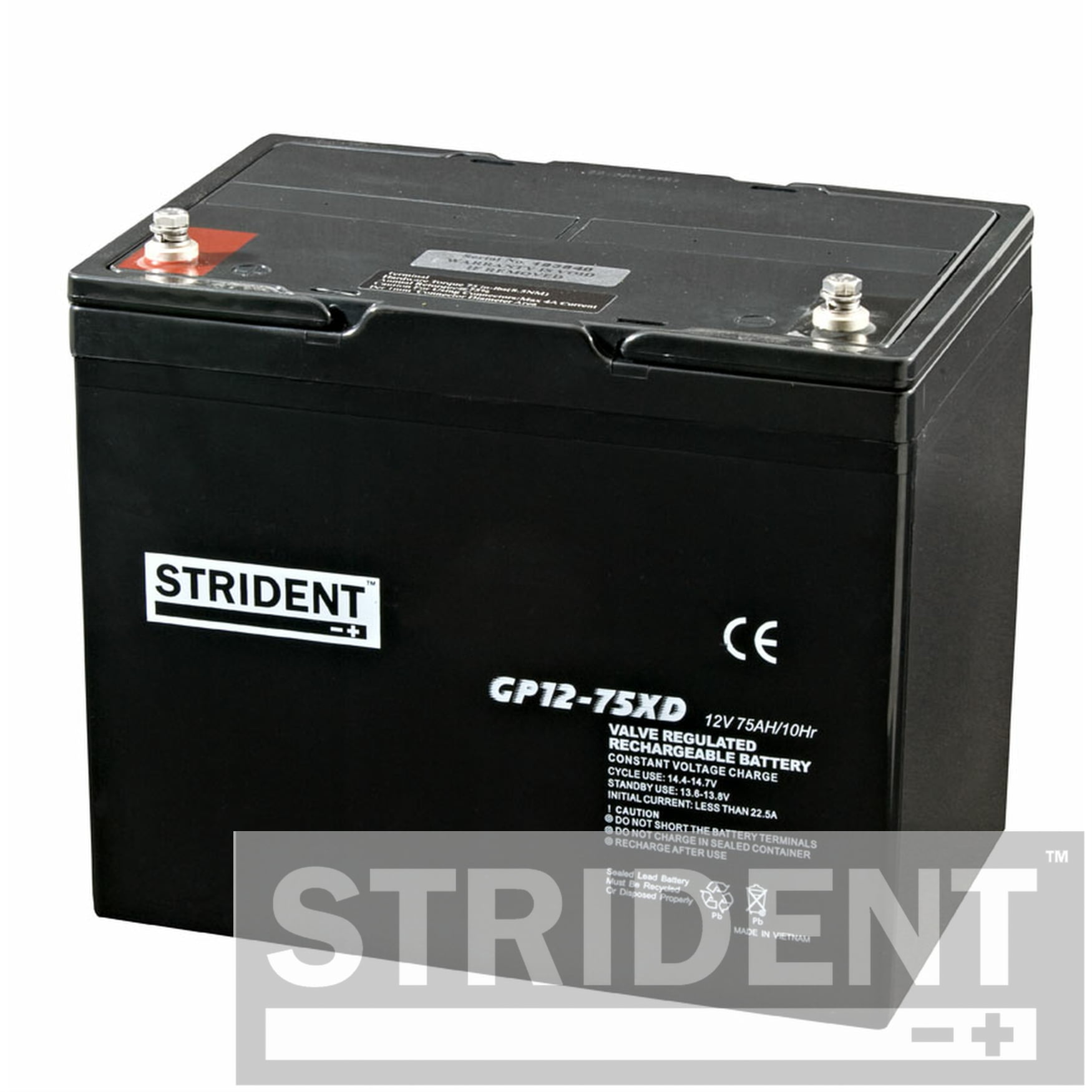 Strident™ GP12-75 Mobility Scooter Battery