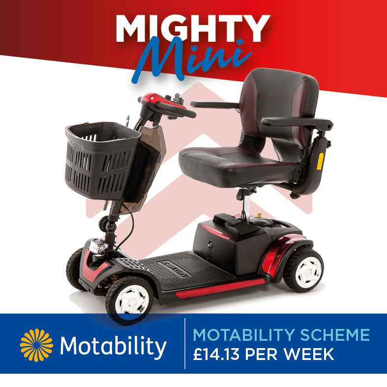 Mobility Scooter Specialists | Motability Scheme | Monarch Mobility 0808 102 2218
