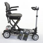 Carbon Supa Lite Folding Mobility Scooter | UK's 1st 'CARBON FIBRE' FOLDING MOBILITY SCOOTER | Monarch Mobility 0800 002 9633